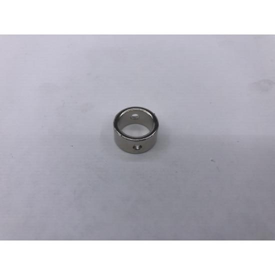 Neodímium gyűrű mágnes,  16mm x 12mm x 8mm, N35, 2db 3mm-es lyukkak - kifutó termék