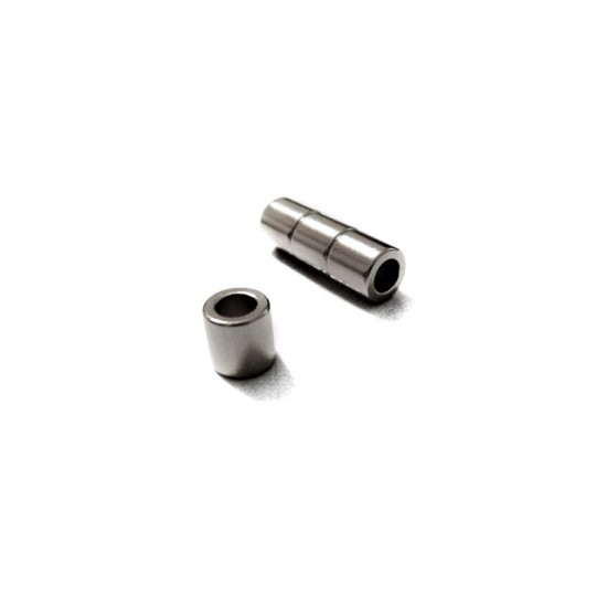 Neodímium gyűrű mágnes,  10mm x 6mm x 9mm, N48