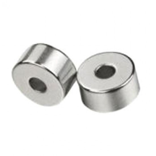 Neodímium gyűrű mágnes,  8mm x 2mm x 6mm, N35, diametrikus