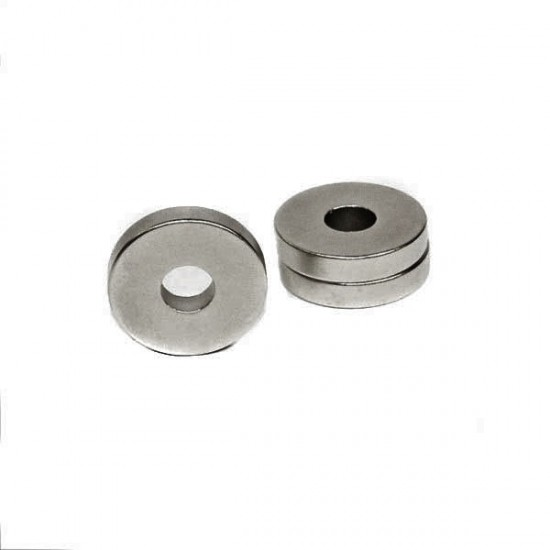 Neodímium gyűrű mágnes,  18mm x 5,2mm x 3mm, N35