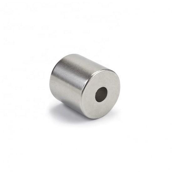 Neodímium gyűrű mágnes,  19,5mm x 5,5mm x 15mm, N48