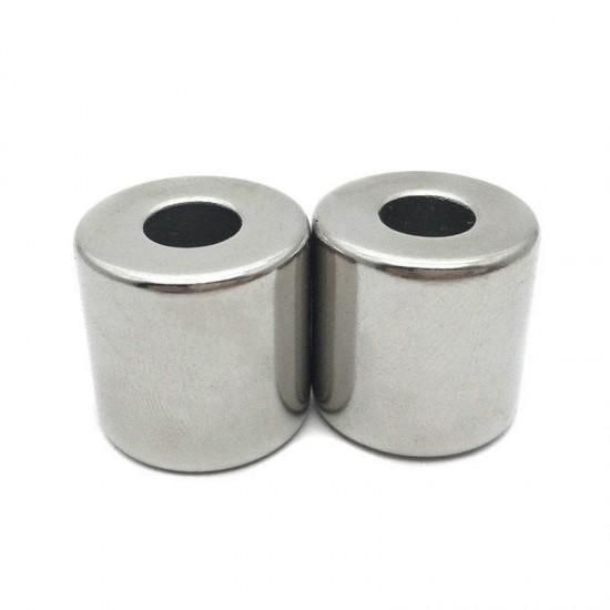 Neodímium gyűrű mágnes,  19,8mm x 6,2mm x 15mm, N48