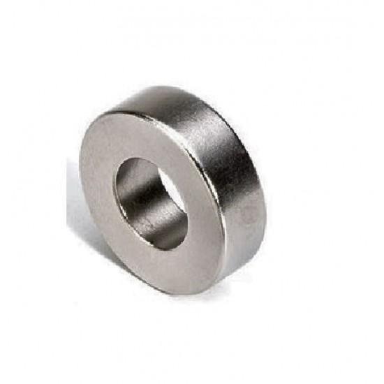 Neodímium gyűrű mágnes,  20mm x 8mm x 8mm, N35