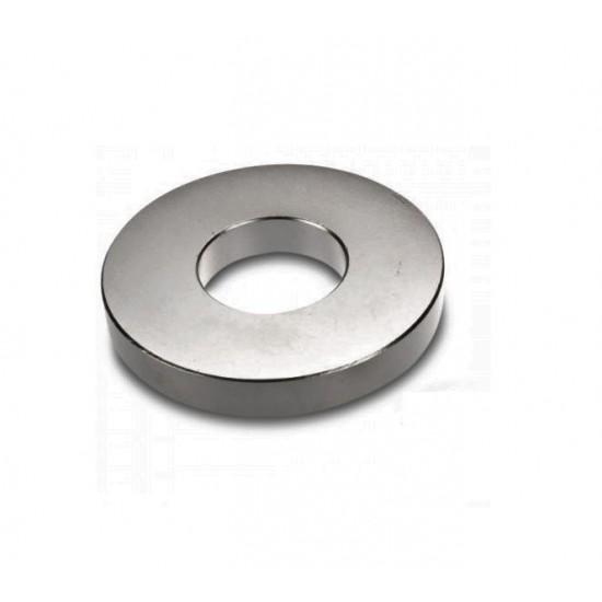 Neodímium gyűrű mágnes,  23mm x 10mm x 5mm, N35