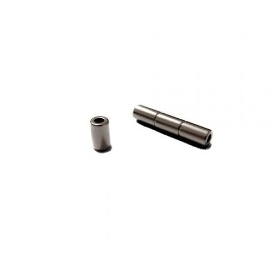 Neodímium gyűrű mágnes,  6mm x 3mm x 10mm, N35
