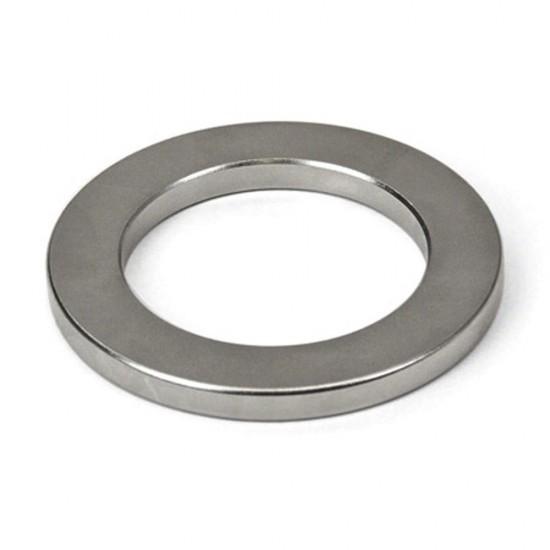 Neodímium gyűrű mágnes,  80mm x 60mm x 10mm, N35