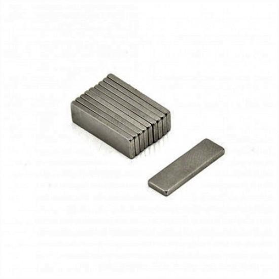 Neodímium hasáb mágnes,  8mm x 3,8mm x 1,2mm, N48 -  kifutó termék