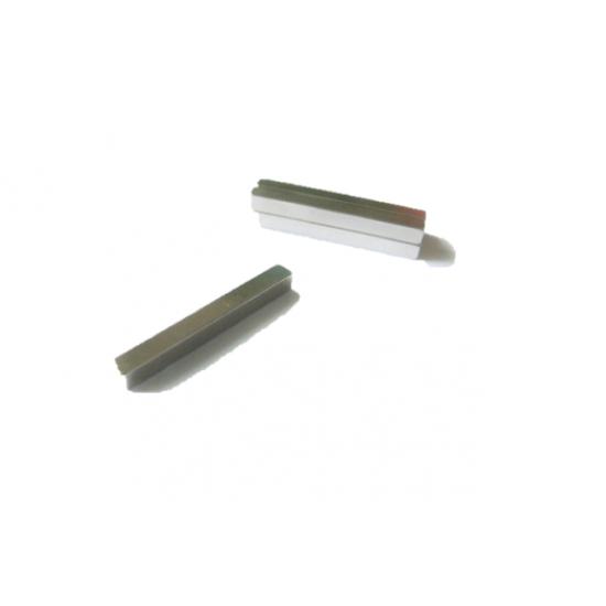 Neodímium hasáb mágnes,  4mm x 4mm x 37,5mm, N35