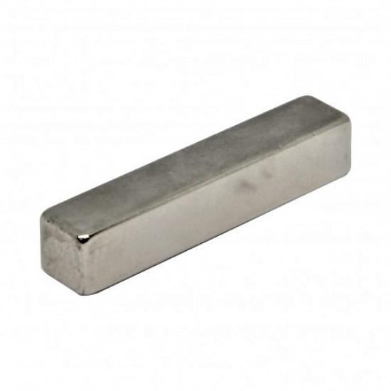 Neodímium hasáb mágnes,  8mm x 8mm x 50mm, N35