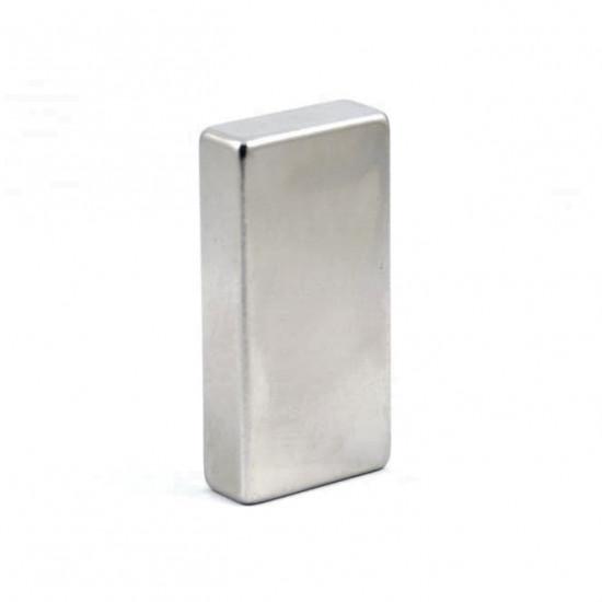 Neodímium hasáb mágnes,  8mm x 17mm x 40mm, N35