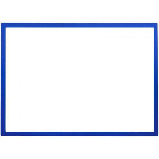Mágneses prezentációs keret kék, A4