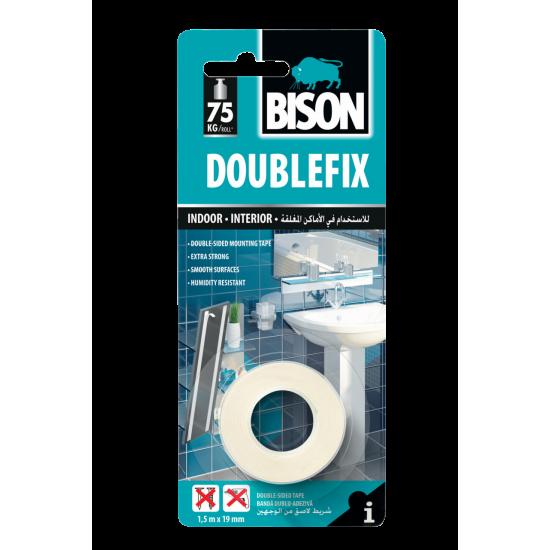 BISON DOUBLE FIX - kétoldalú ragasztószalag - Ferrit mágnesekhez
