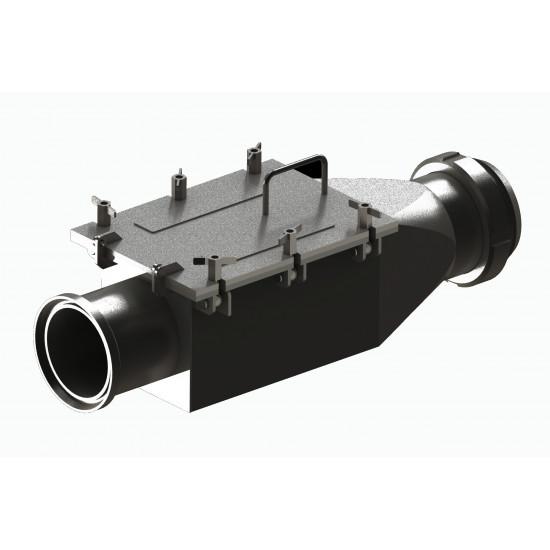 Folyadék szeparátor DN-140 M (Borászati vaskiválasztó)