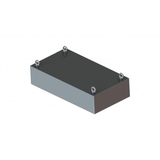 Mágneses lemez ferrit mágnessel EMH-MLF-200