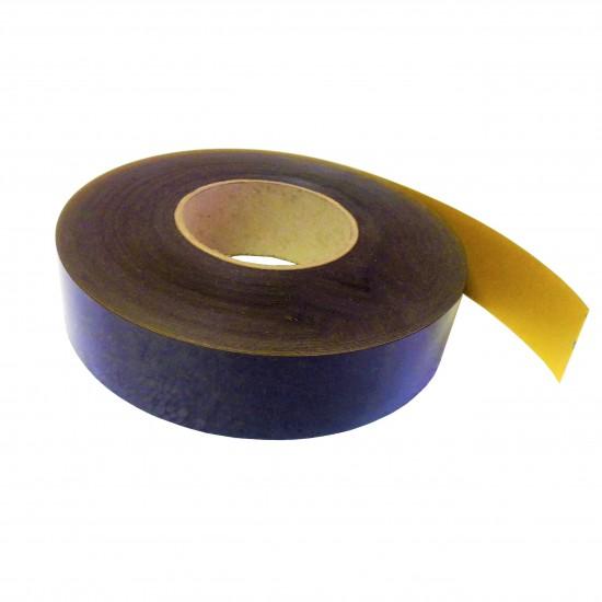 Mágnesszalag, ragasztós, vastagság: 0,75mm, szélesség: 20mm, hosszúság: 9,5m