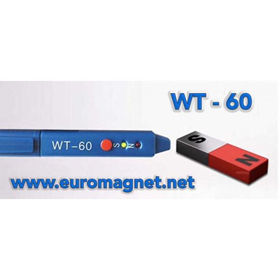 Mágnes polaritás ellenőrző -LED WT-60