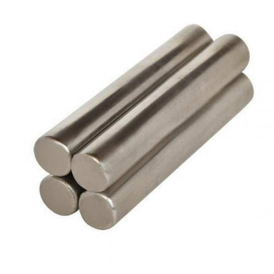 Neodímium rúd mágnes, 4mm x 28mm, N48