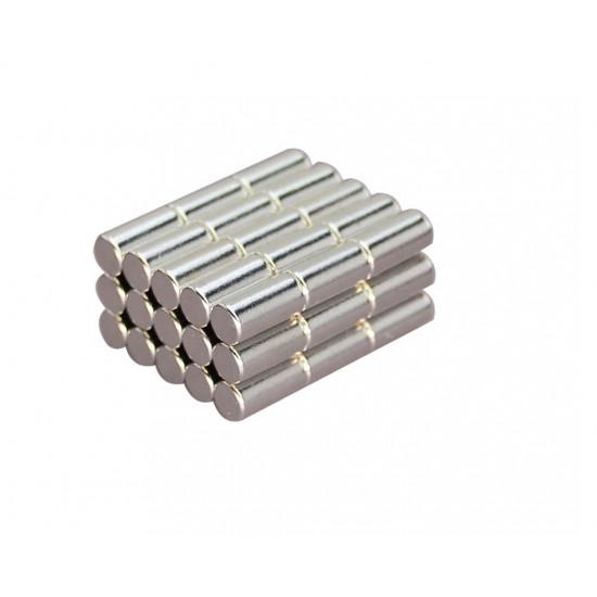 Neodímium rúd mágnes, 5mm x 10mm, N35 EH